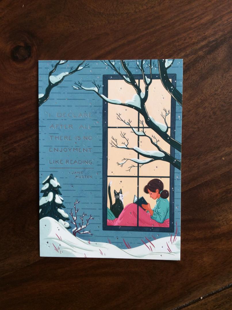 Conspiracy- Jane Austen card