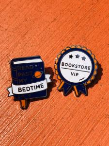 Bookish pins