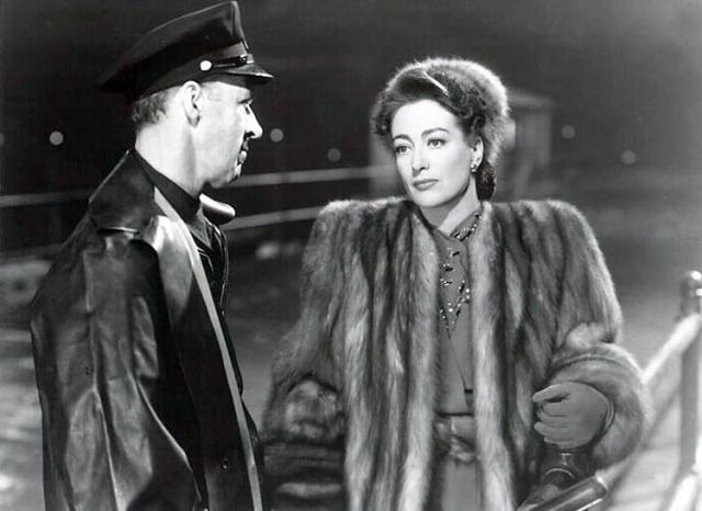 fur coat Mildred Pierce Joan Crawford