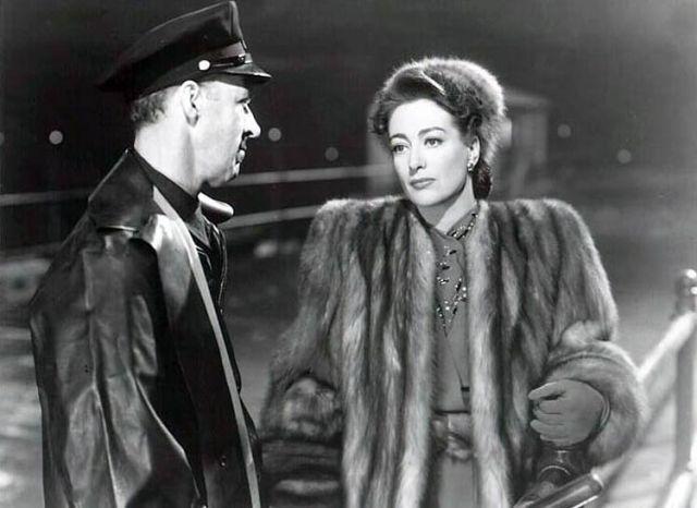 fur coat Mildred Pierce Joan Crawford